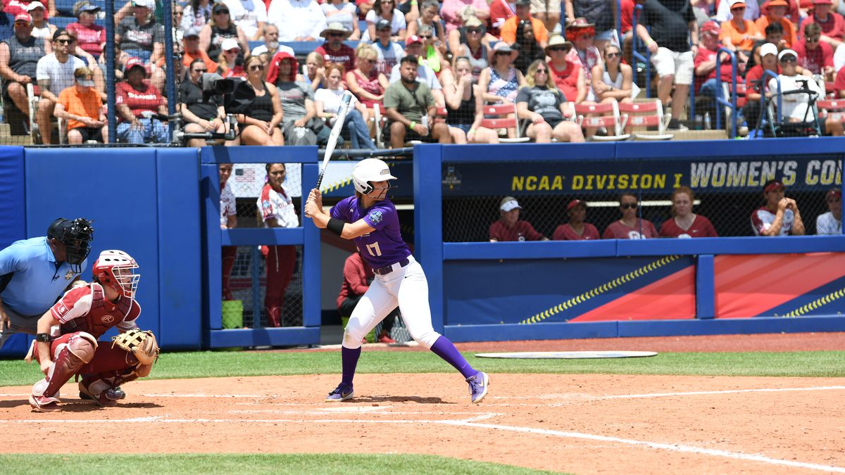 Kate Gordon played the hero for James Madison in an upset win over No. 1 seed Oklahoma in the...