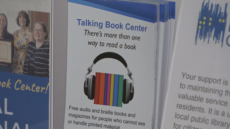 The Talking Book Center in Staunton, offers audio books to those who are visually impaired.