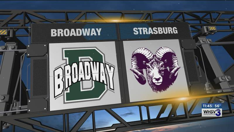 Strasburg squared off with Broadway.