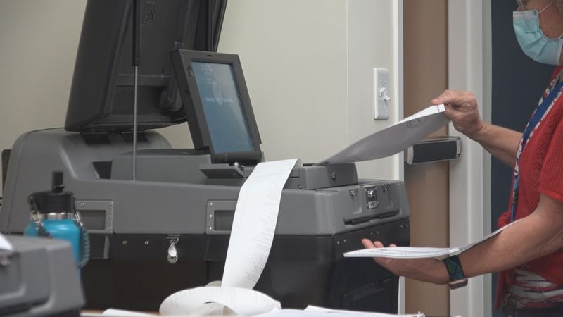Voting machines in Harrisonburg tested ahead of upcoming election