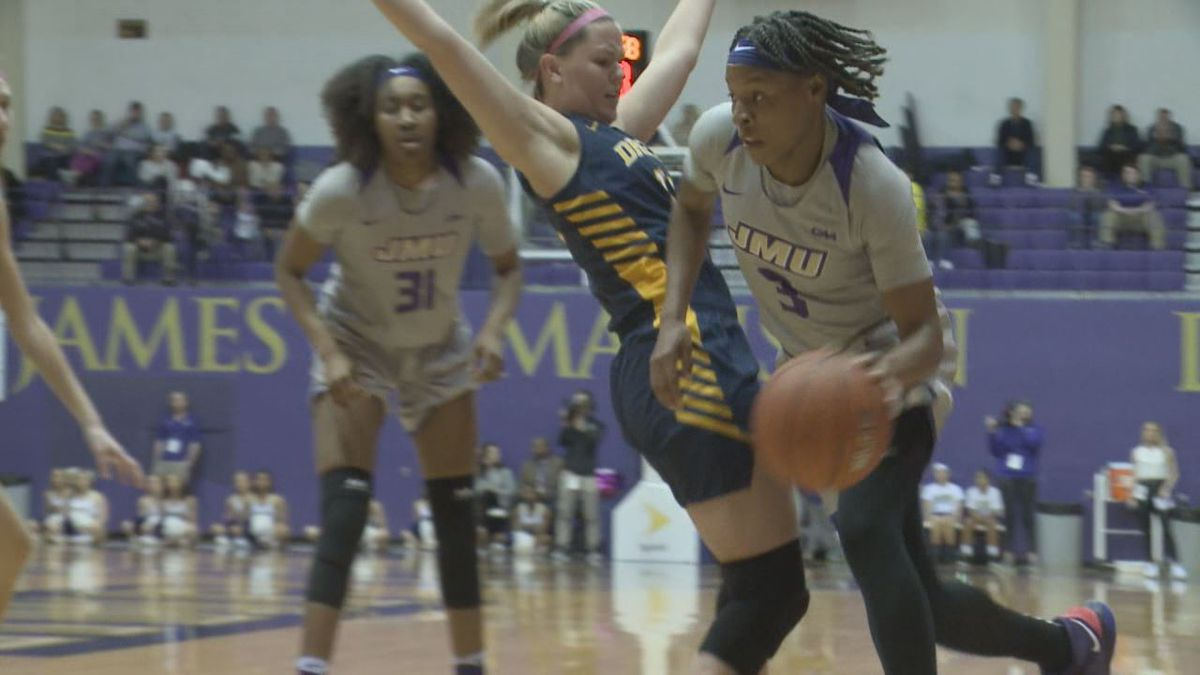The James Madison women's basketball team dominated Drexel, 69-39, Friday night at the Convocation Center.