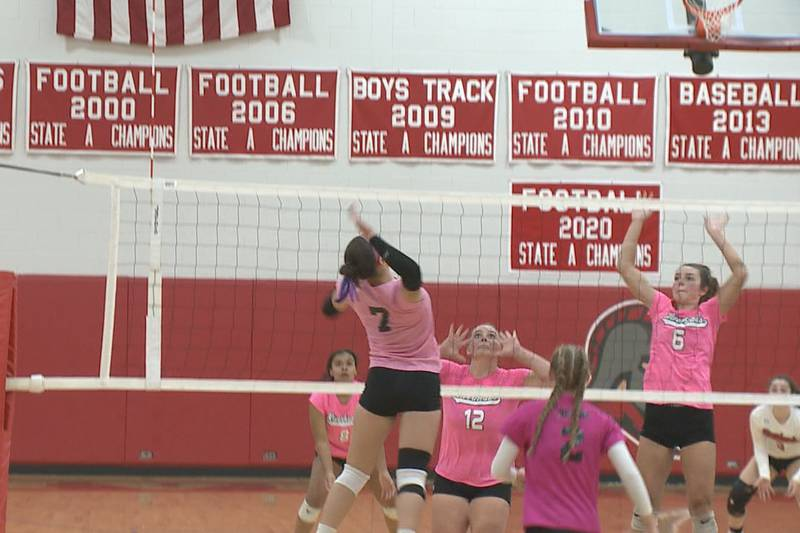High school volleyball scores from Thursday, October 14.
