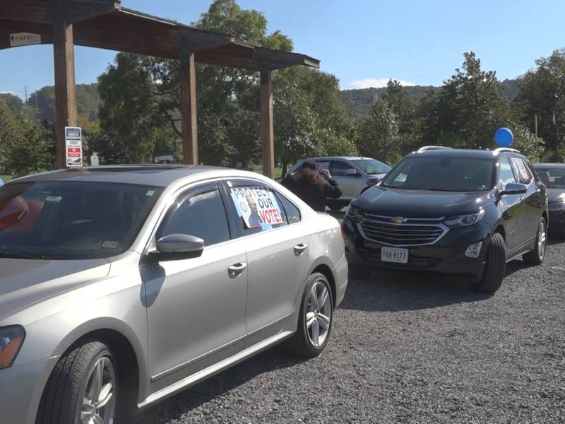 On Saturday members of multiple organizations held a motorcade and drove throughout the city to...