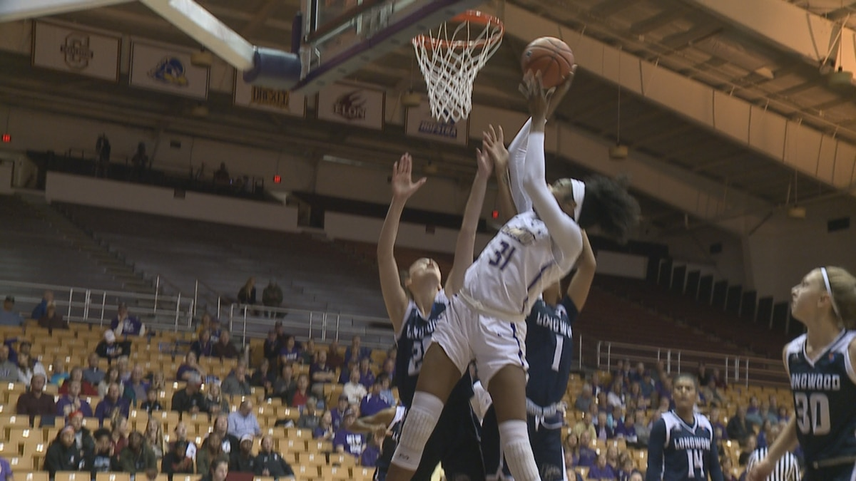 The James Madison women's basketball team defeated Longwood, 93-53, in the Dukes' season opener Wednesday night.