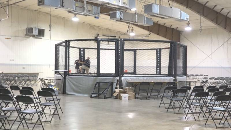 The doors open Saturday, July 10 at 5 p.m. and the fights start at 6 p.m.