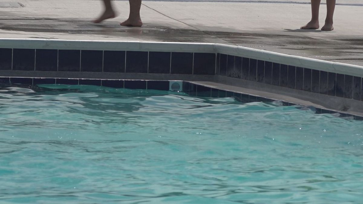 Westover Pool said its important to know the depth of the water you're in, especially if you can't swim.   Credit: WHSV