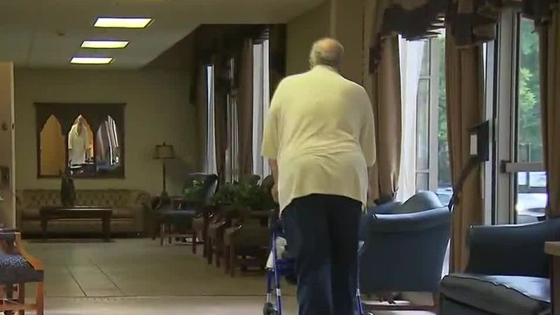 Nursing home residents may now be able to visit with family.