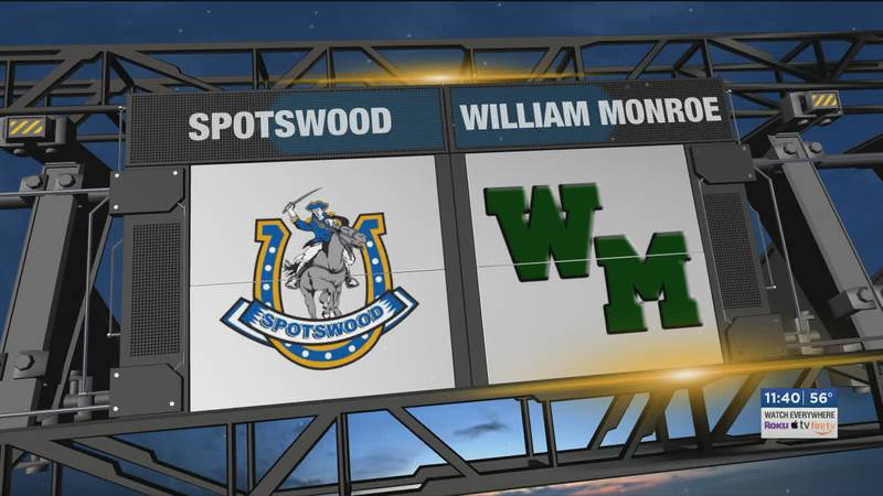 Spotswood visited William Monroe for this matchup.