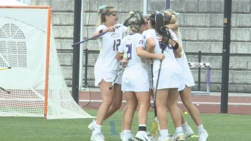 JMU women's lacrosse takes down (15) Towson Sunday afternoon.
