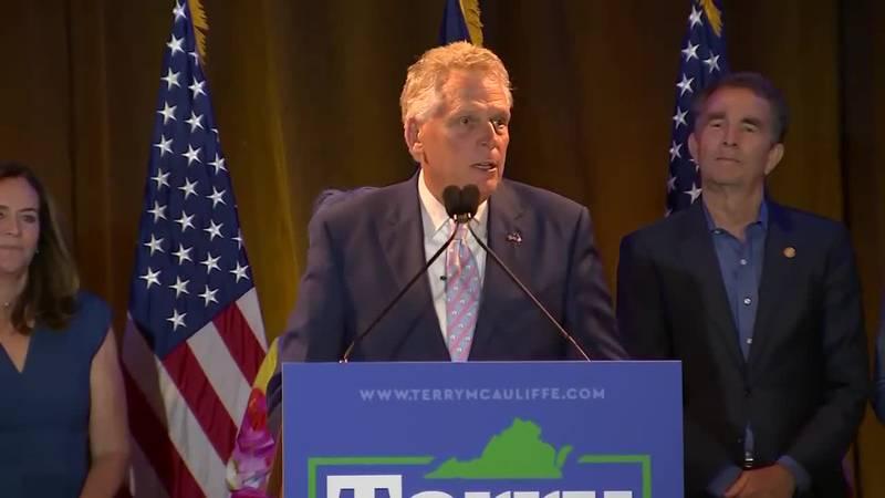 McAuliffe Speaks After Winning Dem Governor Primary