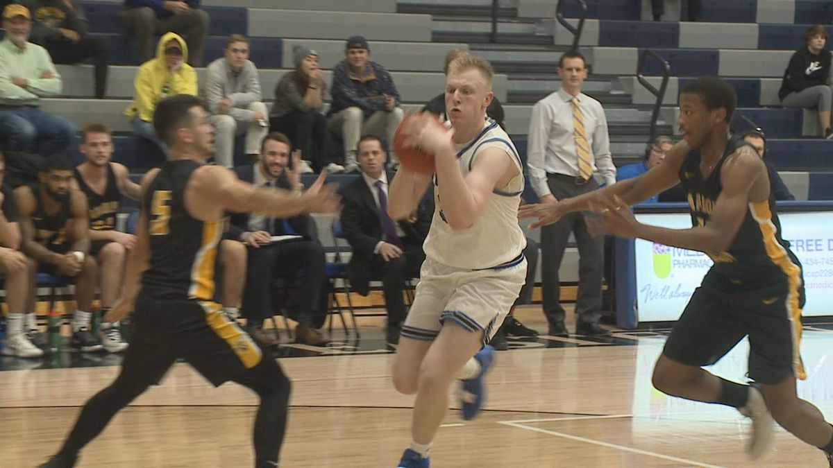 No. 6 Randolph-Macon defeated Eastern Mennonite, 77-49, Wednesday night in ODAC men's...