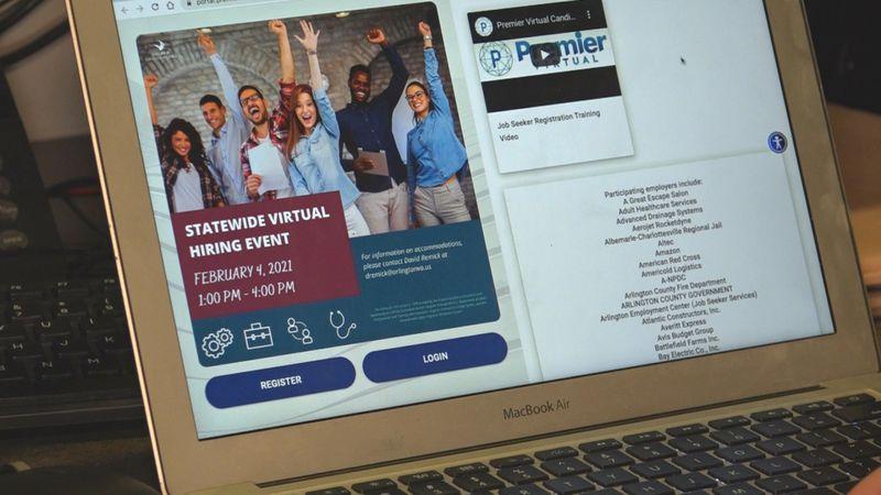 Virginia statewide hiring event