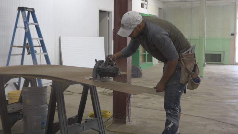 It's been nearly a year since two fires destroyed the inside of the Staunton Habitat Restore...