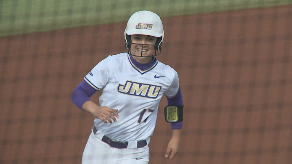 Kate Gordon is making the most of her final, unexpected season with the James Madison softball...