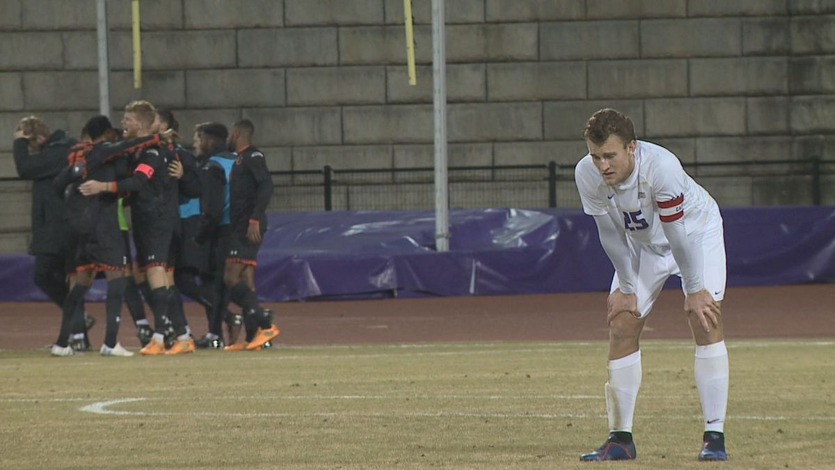 The James Madison men's soccer team lost to No. 24 Campbell in the first round of the NCAA...