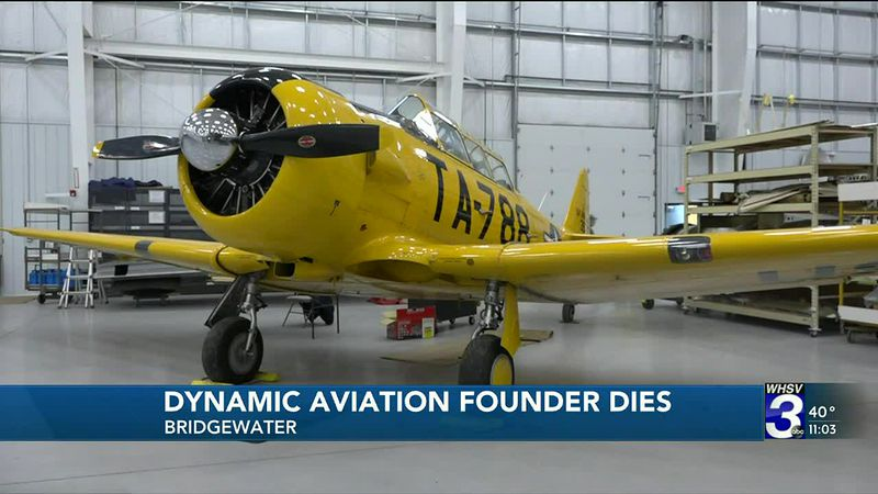 Dynamic Aviation honor's founder and continues his legacy