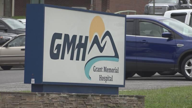 Grant Memorial Hospital has 25 in-patient beds.