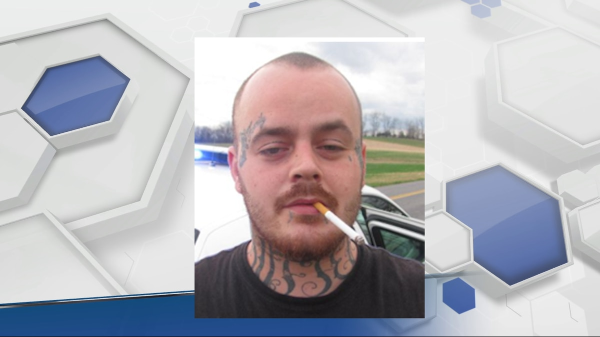 Jason Davis Parker, 32, is wanted by the Harrisonburg Police Department.