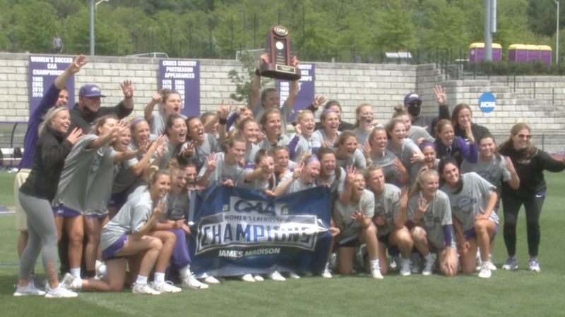 James Madison wins the CAA championship for the fourth year in a row.