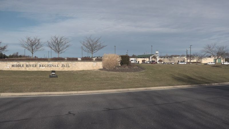 Middle River Regional Jail is currently almost three times over its intended capacity, with...