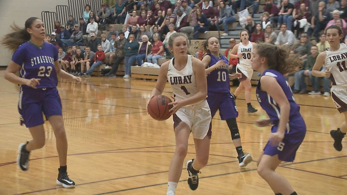 Emilee Weakley is only a sophomore on the Luray girls basketball team but has already become one of the best players in the Shenandoah Valley.