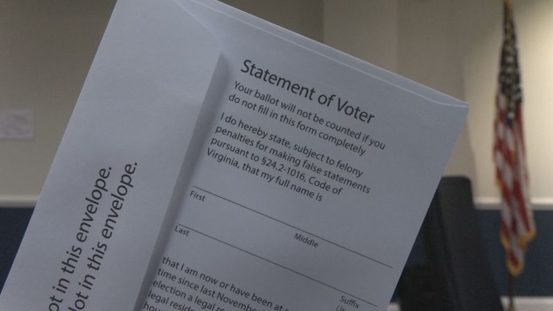 When voting in-person, if there is a mistake, like checking an extra box on the ballet, the...