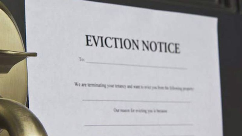 The federal government's eviction moratorium has been extended until January 31.