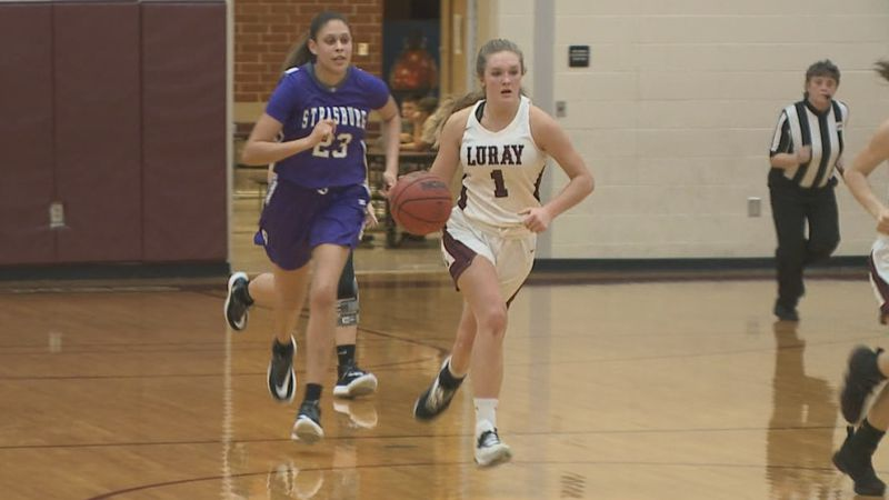 Luray High School basketball star Emilee Weakley has earned her first NCAA Division I offer.