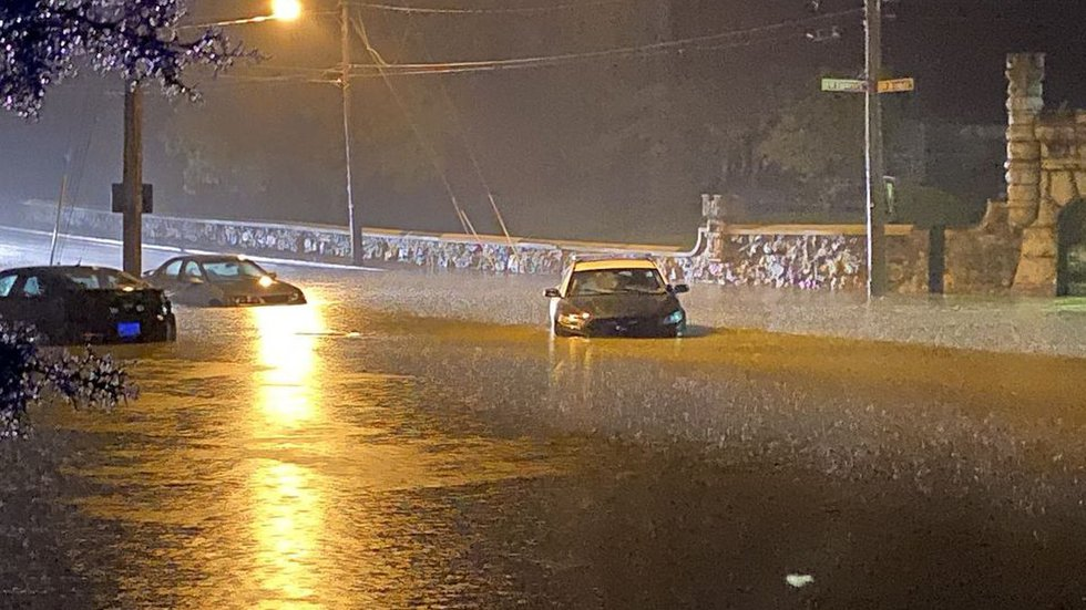 In August of 2020, the city of Staunton suffered from two different floods.