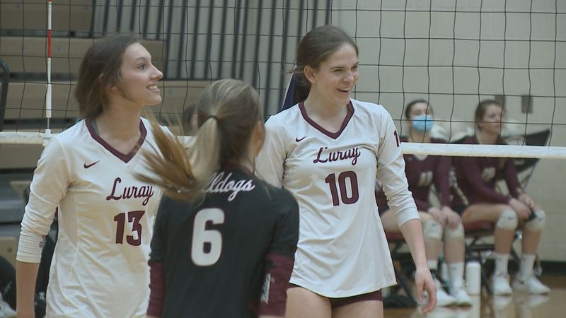 The Luray and Riverheads High School volleyball teams have both clinched berths in their...