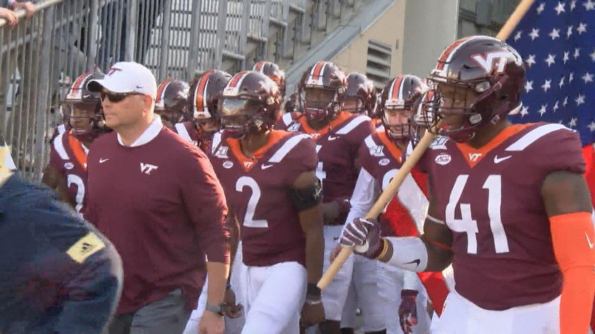 Virginia Tech football defeats Louisville (photo: file).
